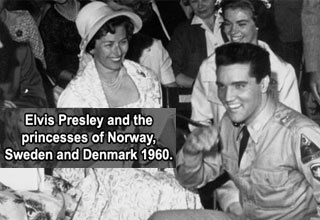 elvis presley and the princess of norway