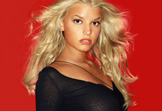 Jessica Simpson looking like a babe.