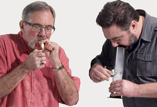 two ex cops smoking weed