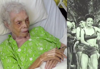 102 Year Old Dancer Sees Herself on Film for the First Time