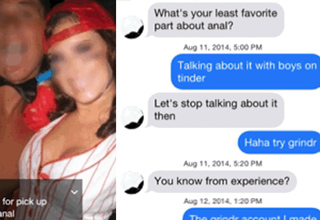 tinder conversation with cute girl