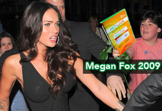 megan fox being offered a xbox