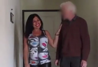 fake craigslist prostitute greeting old man