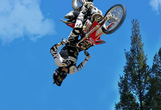 dirtbike back flip