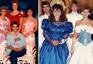 funny 80s prom pictures