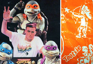 vanilla ice and the ninja turtles