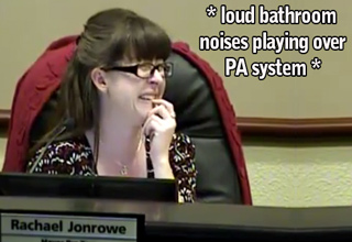 Councilman Forgets to Turn His Mic Off Before Bathroom