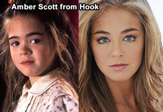 amber scott from hook then and now