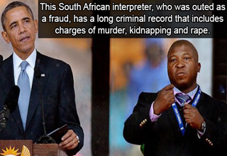 south african sign language interpreter, and barack obama