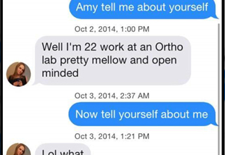 Meet Jake, The Best Tinder Troll in To