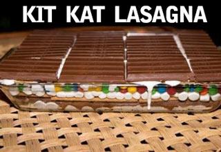 kit kat lasagna