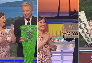 Unbelievably Lucky Lady on Wheel of Fortune