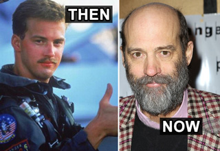 goose from top gun then and now