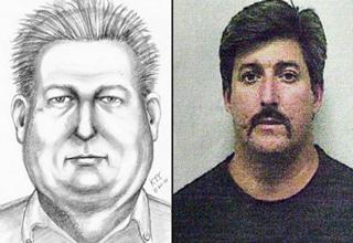 police sketch next to mug shot