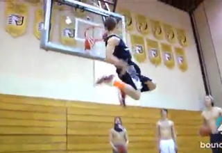 Guy Who Never Played Competitive Basketball Slams World's Greatest Dunk