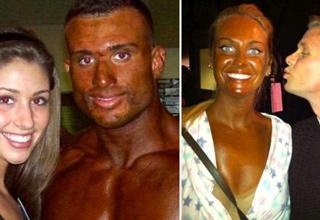 really bad tans
