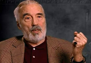 Christopher Lee explains what a dying nazi sounds like