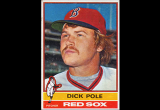 dick pole baseball player for red sox
