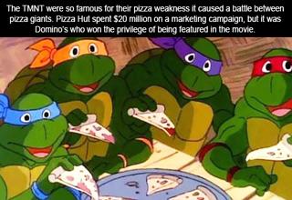 teenage mutant ninja turtles eating pizza
