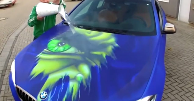 Insane Color Changing Hulk Paint Job