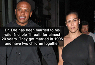 dr dre and his wife nichole threatt