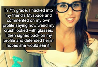 hot girl with glasse