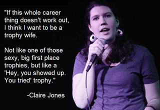 24 Great Stand-Up Jokes claire jones
