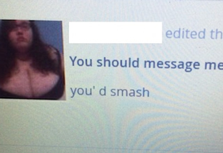 you should message me if you'd smash