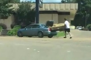 The Poor Man's Way To Move A Sofa