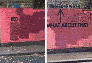 Grafitti Artist Trolls City Worke