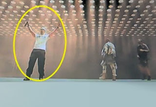 Kanye West Gets Kanye'd During Show