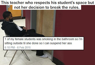 30 Teachers Who Totally Schooled Their Student