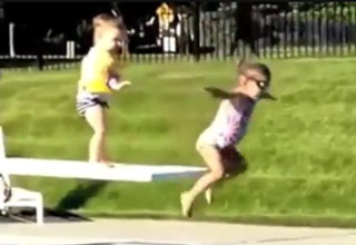 Impatient Little Kid Takes Matters Into His Own Hands