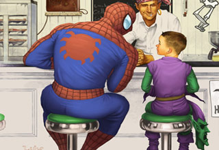 11 Pieces Of Norman Rockwell Inspired Fan Art