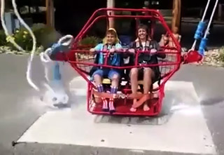Kid's Life Flashes Before His Eyes When Ride Breaks