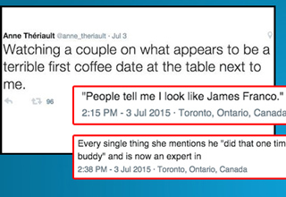 Girl Live Tweets a Super Awkward First Date