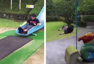 Ride This Slide At Your Own Risk