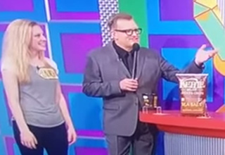 Drew Carey Insults Price Is Right Model On Live