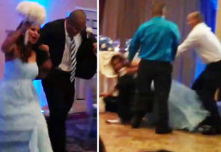 Groom Gets Too Turnt Up and KOs Bride