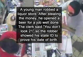13 Idiot Criminals Caught Because Of Their Stupidity