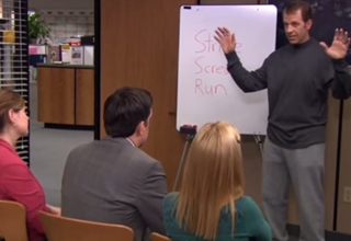 Best Bits From 'The Office:' Self Defense