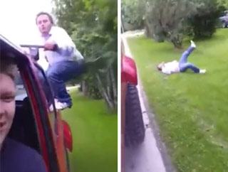 Truck Jump Ends In Painful Fail