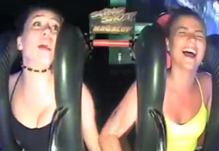 Irish Girl Passes Out Twice On Slingshot Ride