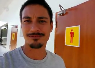 You Won't Believe This Gas Station's Restroom