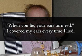 lies that parents tell their children