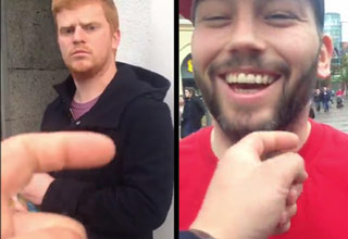 Tickling Irish Men's Beards In Ireland