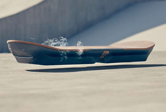 The Lexus Hoverboard Is