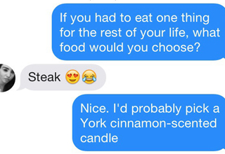 Guy's Unsuccessful Tinder Game is Amazing