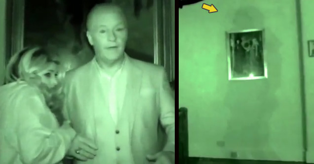 Ghost of Haunted English Castle Captured On Film