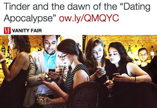 Tinder GTinder Goes On Epic Twitter Rant Over Vanity Fair Storyoes On Epic Twitter Rant Over Vanity Fair Story